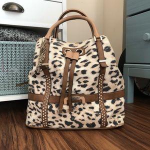 Guess | cheetah print purse